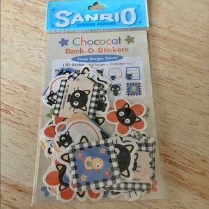 Rare Vintage SANRIO CHOCOCAT Stickers